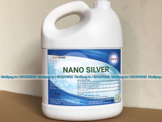Nano bạc dung dịch khử khuẩn