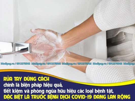Rửa tay phòng chống dịch covid 19