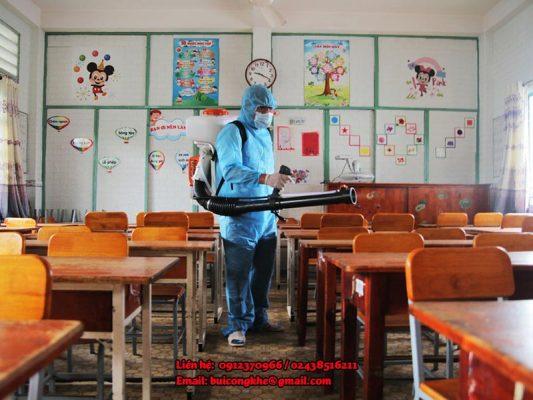 Medipag 20 khử khuẩn trường học, chung cư